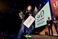 En av vinnarna av SvD Affärsbragd 2015, Martin Lorentzon.