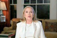 Hillary Clinton, före detta utrikesminister och presidentkandidat för Demokraterna, under partiets konvent förra veckan.