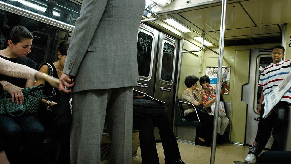 Tunnelbanan i New York.