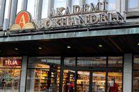 Akademibokhandeln på Sergels torg i Stockholm.