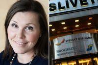 Anna Lööf, pressekreterare på branschorganisationen Teknikföretagarna, som är medlem i Svenskt Näringsliv, uttalar sitt stöd för Leif Östling.