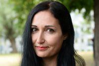 Sakine Madon, politisk chefredaktör på Upsala Nya Tidning.