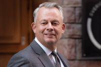 Göran Arrius, ordförande för den fackliga centralorganisationen Saco.