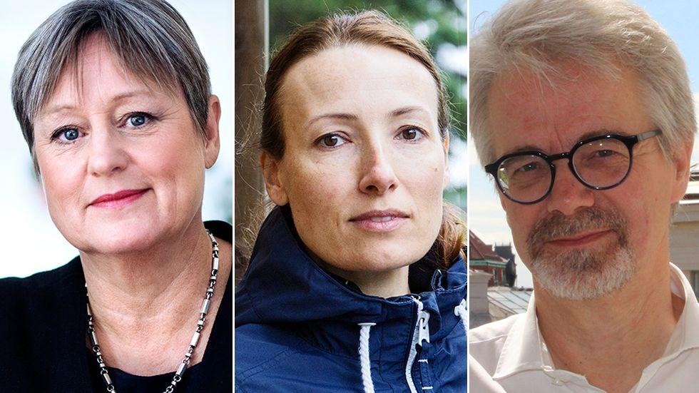 Inga-Kari Fryklund, Heidi Stensmyren och Sven Söderberg skriver att finansministern och Skatteutskottet bör skjuta på införandet av en ny vårdmoms tills domstolsprövningen är klar.