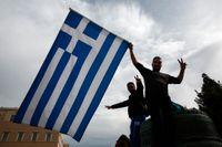 Grekland ser ljuset i tunneln efter sju år av ekonomisk kris. Arkivbild.