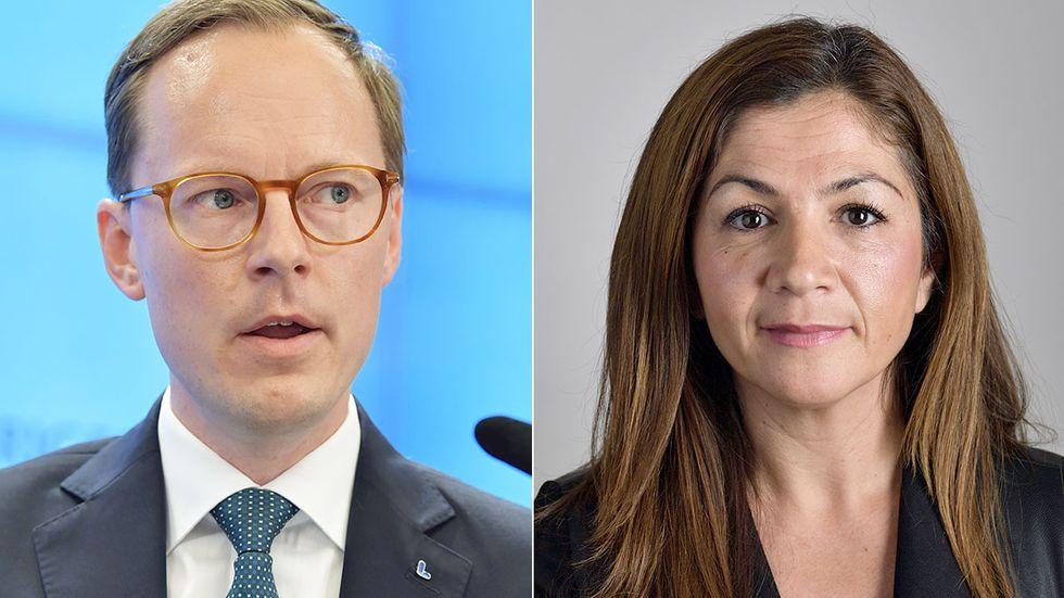 Mats Persson och Gulan Avci.