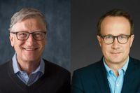 Bill Gates och Andri Snær Magnason.