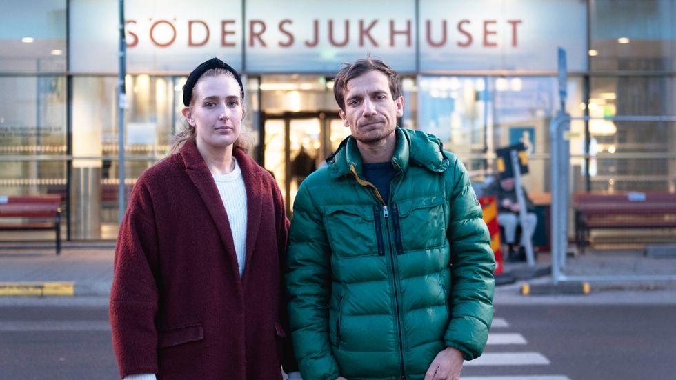 Läkarna som startade sjukvårdsuppropet, Laura Björnström och Akil Awad