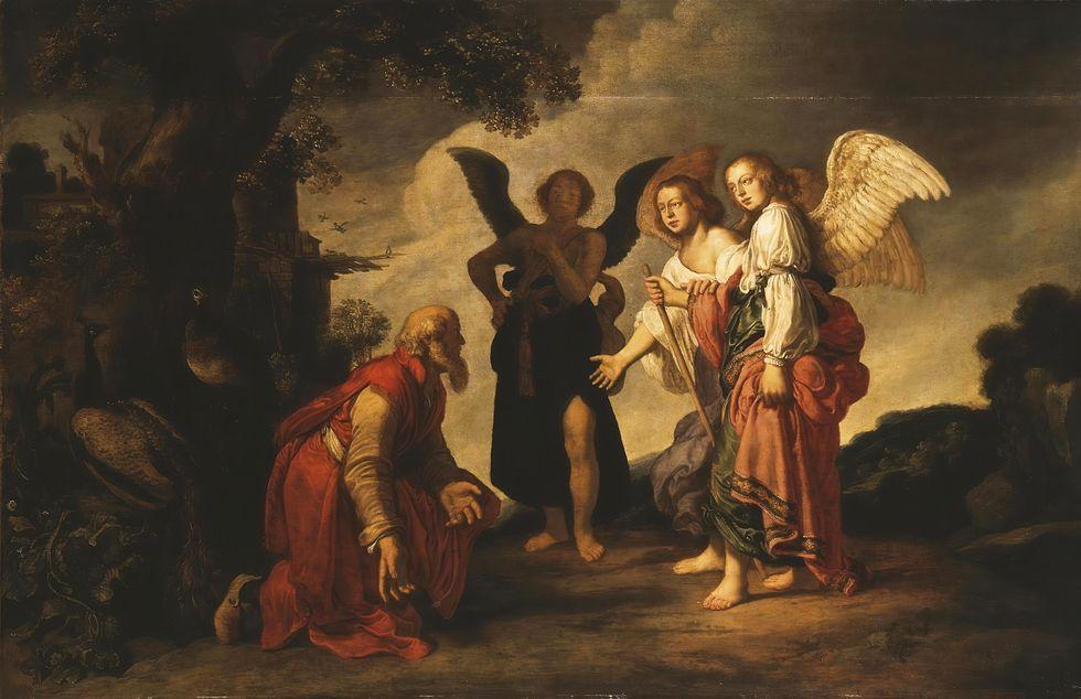 """""""Abraham och de tre änglarna"""""""