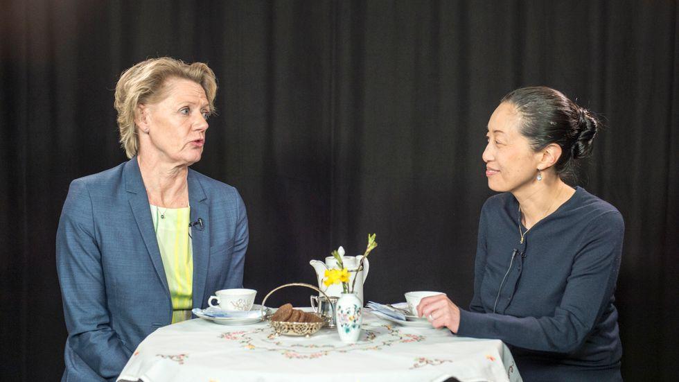 Ulla Hamilton gäst hos Tove Lifvendahl