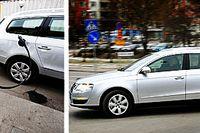 VW Passat TSI EcoFuel Sportline. Enastående förmånlig för tjänstebilsförare.