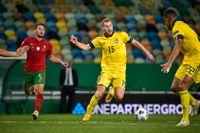 Dejan Kulusevski är en potentiell nyckelspelare om Sverige når fotbolls-EM 2024. Mästerskapet kommer att sända i TV4 och SVT. Arkivbild.