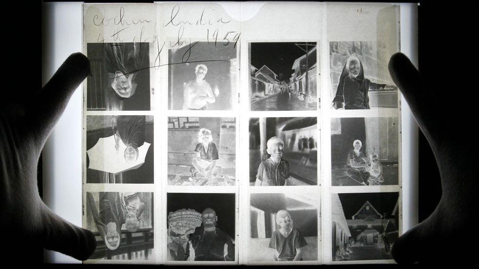 Ett av de tusentals negativ som Vivian Maier lämnat efter sig.