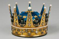 Prinsessan Sofia Albertinas krona från 1771 är en av de två prins- och prinsesskronor som inte tillfallit någon annan medlem av kungahuset.