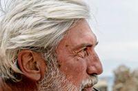 """Den tidigare krigskorrespondenten George Tsakiris har nu startat båtcharter och upplevelseresor under namnet """"Captain George""""."""