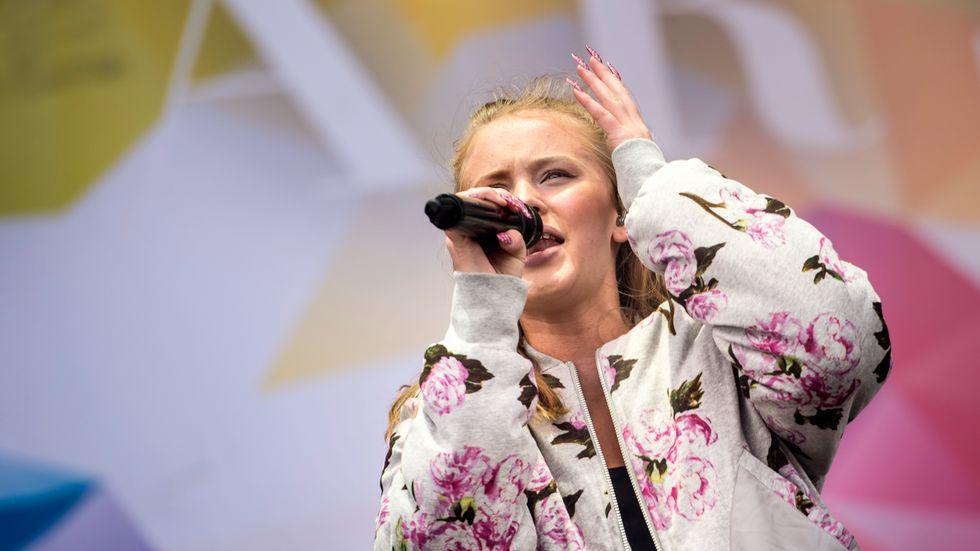 Zara Larsson har skapat starka känslor den senaste tiden.