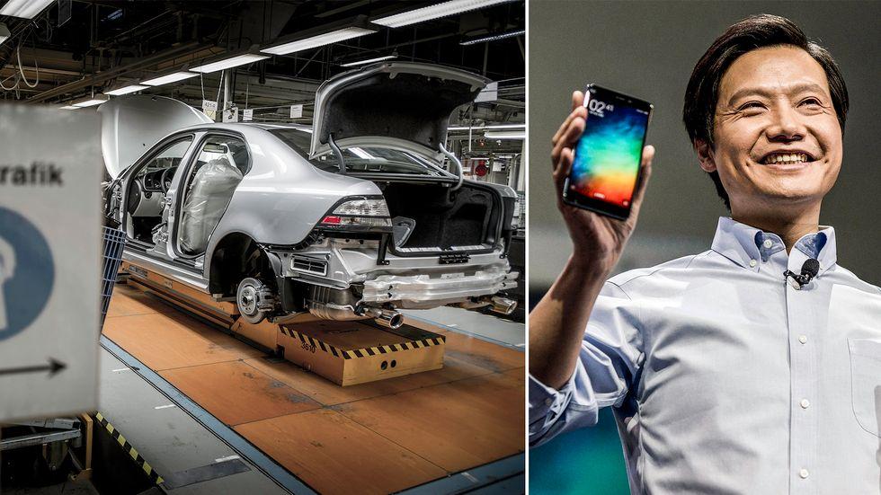 Nevs fabrik i Trollhättan kan tas över av mobiltelefontillverkaren Xiamo med vd Lei Jun i spetsen.