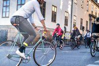 Cyklister – den grupp som folk stör sig mest på i trafiken.
