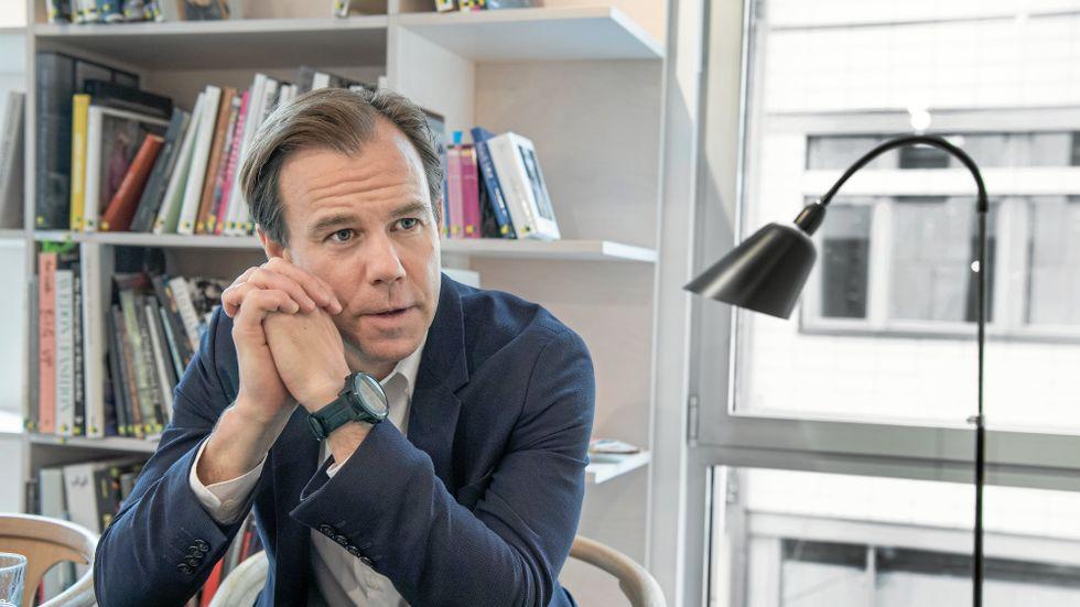 H&M:s vd Karl Johan Persson.