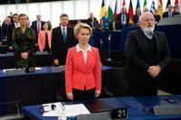 Ursula von der Leyen, ny ordförande för EU-kommissionen.