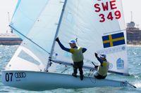 Fredrik Bergström och Anton Dahlberg seglade hem ett väntat EM-guld i 470-klassen.