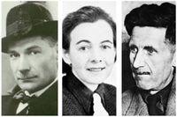 Jevgenij Zamjatin, Karin Boye och George Orwell.