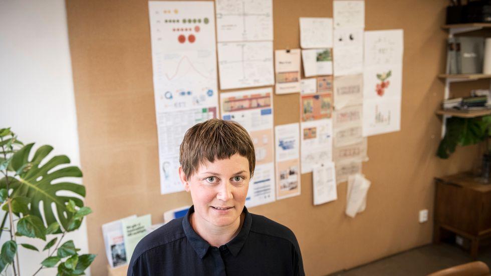 Arkitekten Anna Sundman tar fram billiga bostäder, bland annat för äldre kvinnor.