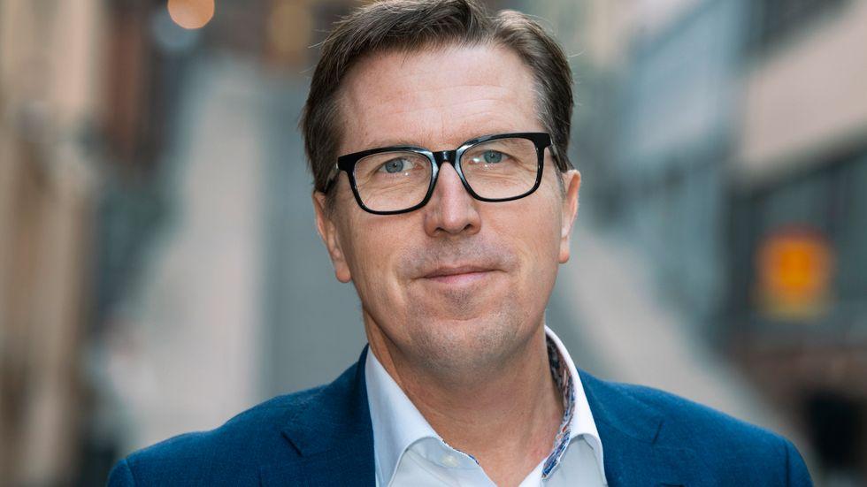 Marcus Strömberg, vd för Academedia. Arkivbild.