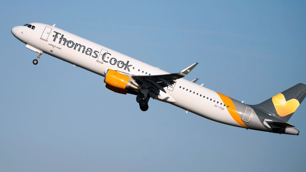 Thomas Cook gick i konkurs den 23 september.