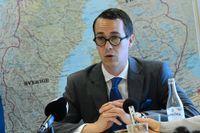 Finlands försvarsminister Carl Haglund.