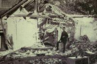 Augusti 1914 – Belgrad bombarderas av fientligt artilleri.