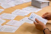 Den preliminära räkningen av röster efter EU-valet är nu klar. Arkivbild