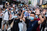 Demonstrationerna i Hongkong är tillbaka.