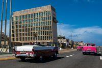 De mystiska sjukdomsfallen inträffade först på USA:s ambassad i Havanna, Kuba. Arkivbild.