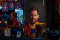 Lionel Messi tränar igen med Barcelona. Arkivbild.