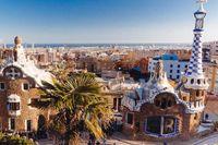 Utsikt över Barcelona.