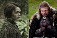 Populära Arja och Ned Stark.