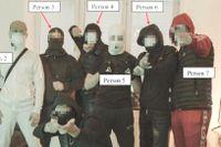 Bilden på de tre personerna från musikvideon och fyra av de som misstänks för mordet utgör ett viktigt bevis, enligt åklagaren.