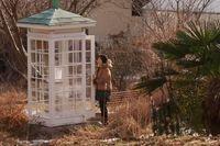 """Itarus Sasakis """"vindtelefon"""" besöks dagligen av sörjande som vill säga något till någon som dött."""