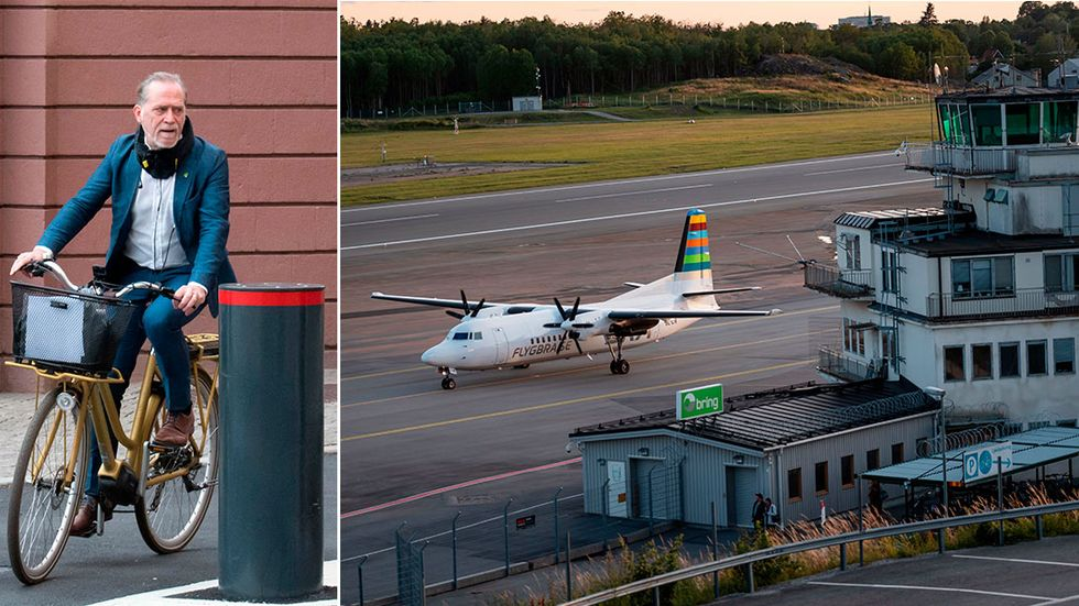 Stockholms trafikborgarråd Daniel Helldén menar att efter BRA:s besked är det dags att stänga Bromma flygplats för gott.