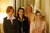 """Miranda, Charlotte, Samantha och Carrie är huvudpersoner i """"Sex and the city"""". Pressbild."""
