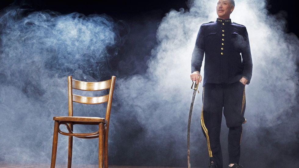 Edgar (Mikael Persbrandt) från Dödsdansen.