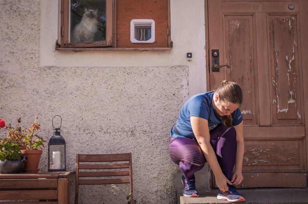 Sabina Bajlo har inlett formtoppningen inför Stockholm Marathon.