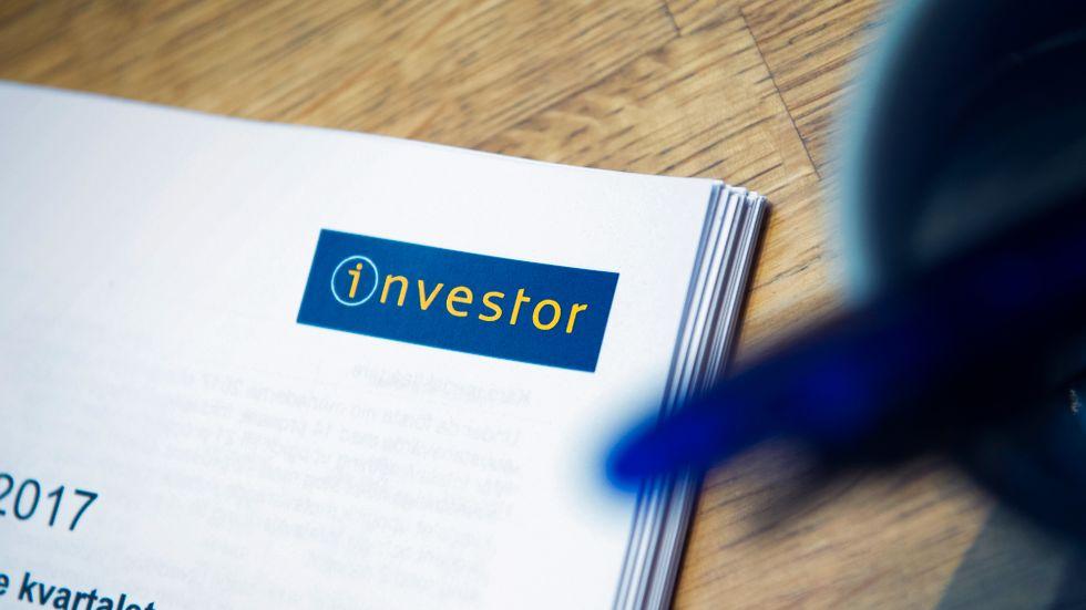 Investor var ett av småspararnas aktieval under augusti. Arkivbild