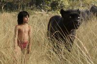 "Neel Sethi som Mowgli i ""Djungelboken""."