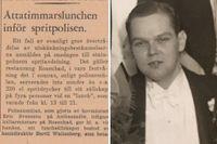 SvD den 25 september 1947 – läs mer om spritpolisens tillslag längre ner i texten.
