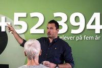 Djordje Petrovic, rektor och vd för Tornadoskolan i Skarpnäck. Illustration: Thomas Molén