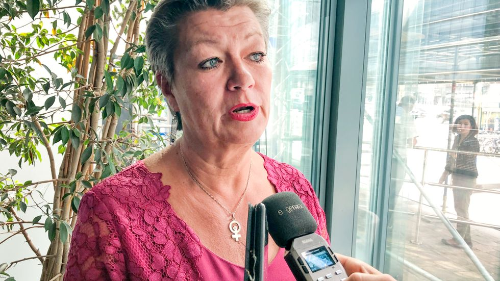 Sveriges tillträdande EU-kommissionär Ylva Johansson (S). Arkivfoto.
