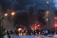 Fredagens koranbränning på Emilstorp ledde till omfattande protester i Rosengård. I flera filmer från kravallerna sprids antisemitiska slagord.