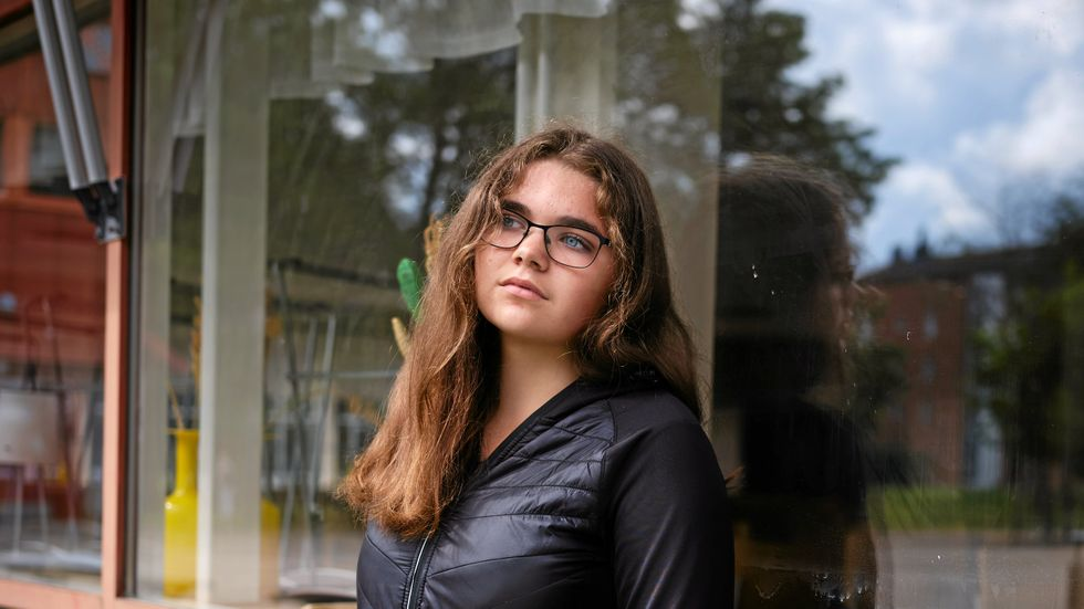 """""""Jag har varit en dagdrömmare ända sedan jag började skolan"""", säger Zabine som fick diagnosen add som 13-åring."""